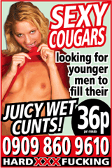 Sexy cougars phone sex advert