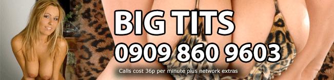 Big Tits Phone Sex Header