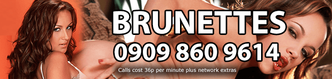 Brunette Phone Sex Header