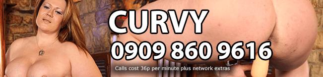 Curvy Phone Sex Header