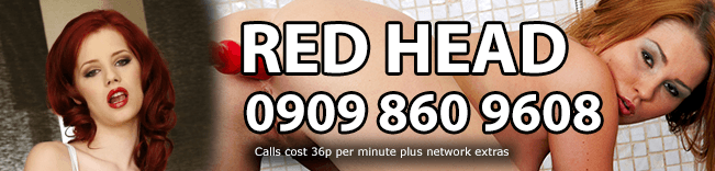 Red Head Phone Sex Header